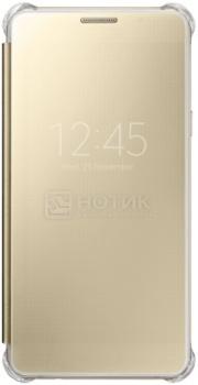 Чехол-книжка Samsung Clear View Cover для Samsung Galaxy A510, Поликарбонат, Gold, Золотистый, EF-ZA510CFEGRU