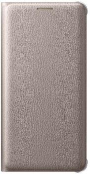 Чехол-книжка Samsung Flip Wallet для Samsung Galaxy A510F, Поликарбонат, Gold, Золотистый, EF-WA510PFEGRU