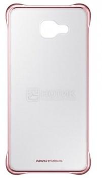Чехол-накладка Samsung Clear Cover для Samsung Galaxy A710F, Поликарбонат, Pink, Розовый, EF-QA710CZEGRU