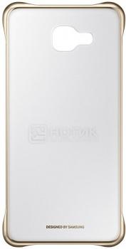 Чехол-книжка Samsung Clear View Cover для Samsung Galaxy A710, Поликарбонат, Gold, Золотистый, EF-ZA710CFEGRU