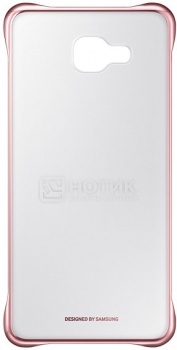 Чехол-книжка Samsung Clear View Cover для Samsung Galaxy A710, Поликарбонат, Pink, Розовый, EF-ZA710CZEGRU