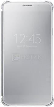 Чехол-книжка Samsung Clear View Cover для Samsung Galaxy A710, Поликарбонат, Silver, Серебристый, EF-ZA710CSEGRU