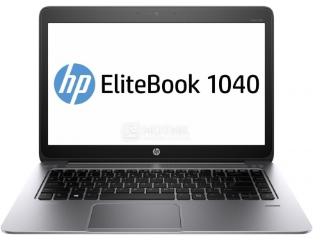 Ультрабук HP EliteBook Folio 1040 G3 (14.0 LED/ Core i5 6300U 2400MHz/ 16384Mb/ SSD 512Gb/ Intel HD Graphics 520 64Mb) MS Windows 7 Professional (64-bit) [V1A91EA]HP<br>14.0 Intel Core i5 6300U 2400 МГц 16384 Мб DDR4-2133МГц SSD 512 Гб MS Windows 7 Professional (64-bit), Серебристый<br>
