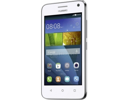 Смартфон Huawei Ascend Y5C White (Android 4.4/SC7731G 1200MHz/4.5