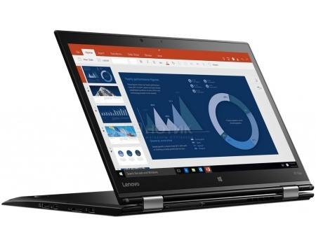 Ультрабук Lenovo ThinkPad X1 Yoga (14.0 IPS (LED)/ Core i5 6200U 2300MHz/ 8192Mb/ SSD 256Gb/ Intel HD Graphics 520 64Mb) MS Windows 10 Professional (64-bit) [20FQ003YRT]Lenovo<br>14.0 Intel Core i5 6200U 2300 МГц 8192 Мб DDR3-1600МГц SSD 256 Гб MS Windows 10 Professional (64-bit), Черный<br>