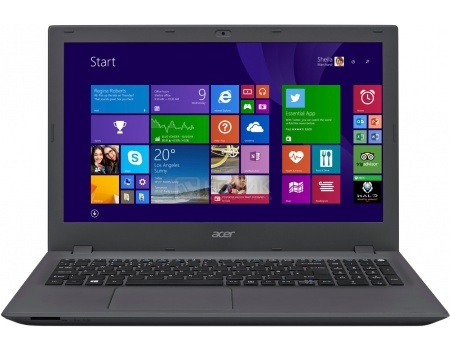 Ноутбук Acer Aspire E5-522-654W (15.6 LED/ A6-Series A6-7310 2000MHz/ 4096Mb/ HDD 500Gb/ AMD Radeon R4 series 64Mb) MS Windows 10 Home (64-bit) [NX.MWHER.007]Acer<br>15.6 AMD A6-Series A6-7310 2000 МГц 4096 Мб DDR3-1600МГц HDD 500 Гб MS Windows 10 Home (64-bit), Серый<br>