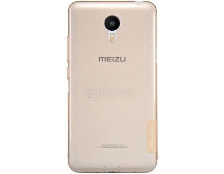 Чехол-накладка Nillkin Clear Cover для Meizu M2 note, Пластик, Gold, Золотистый, NLK-00000000976 от Нотик