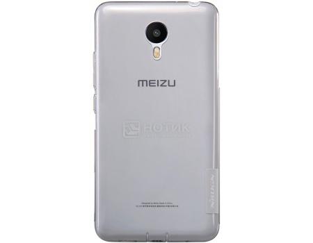 Чехол-накладка Nillkin Clear Cover для Meizu M2 note, Пластик, Gray, Серый, NLK-874004Y0132Nillkin<br>Чехол-накладка Nillkin Clear Cover для Meizu M2 note, Пластик, Gray, Серый, NLK-874004Y0132<br>
