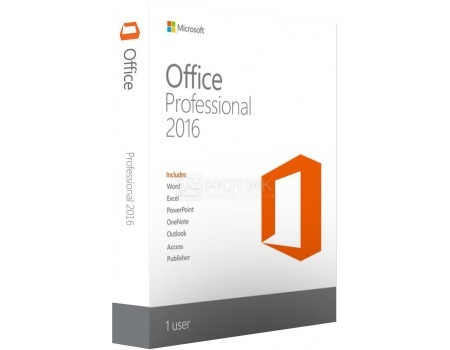 Электронная лицензия MS Office Professional 2016 32/64 , 269-16801