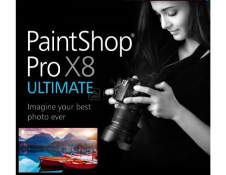Электронная лицензия Corel PaintShop Pro X8 Ultimate ESD ML, ESDPSPX8ULML (RU/EN/DE/FR/IT/ES/NL/SV/PL/CZ/DA/FI) от Нотик