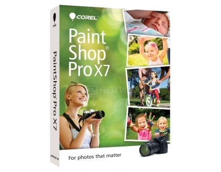 Электронная лицензия Corel PaintShop Pro X7 ESD, ESDPSPX7ML (RU/EN)