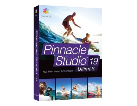 Электронная лицензия Corel Pinnacle Studio 19 Ultimate, ESDPNST19ULML (Многоязычный)
