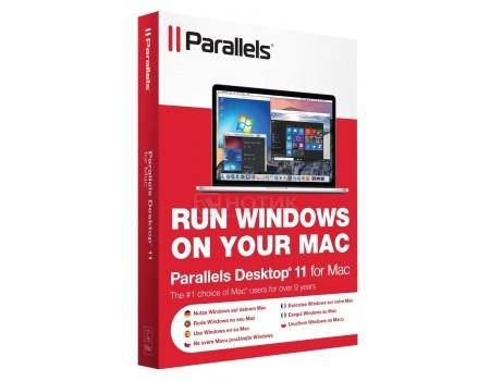 Электронная лицензия Parallels Desktop 11 for Mac Retail, PDFM11L-RL1-CIS от Нотик