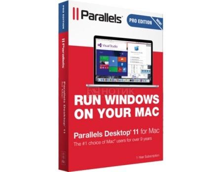 Электронная лицензия Parallels Desktop for Mac Pro Edition (лицензия на 1 год), PDPRO-RSUB-1Y от Нотик
