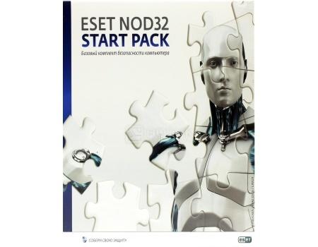 Электронная лицензия ESET NOD32 Start Pack- базовый комплект, лицензия на 1 год на 1ПК