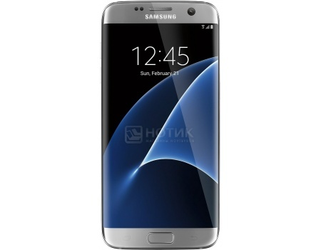 Смартфон Samsung Galaxy S7 Edge 32Gb SM-G935FD Silver Titanium (Android 6.0 (Marshmallow)/Exynos 8890 2300MHz/5.5 2560х1440/4096Mb/32Gb/4G LTE ) [SM-G935FZSUSER]
