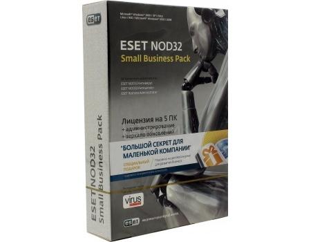 Электронная лицензия ESET NOD32 Small Business Pack лицензия на 5 ПК. фото
