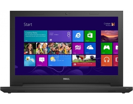 Ноутбук Dell Inspiron 3542 (15.6 LED/ Core i3 4005U 1700MHz/ 4096Mb/ HDD 500Gb/ Intel HD Graphics 4400 64Mb) Ubuntu [3542-9446] от Нотик