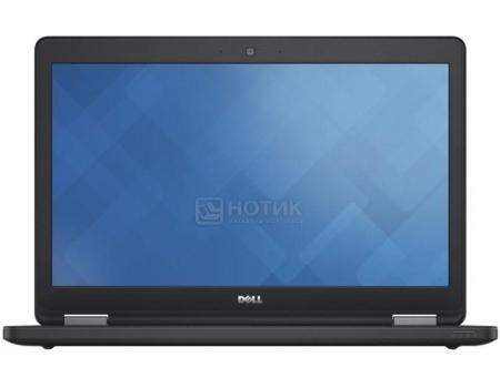 Ноутбук Dell Latitude E5550 (15.6 LED/ Core i5 5200U 2200MHz/ 4096Mb/ HDD 500Gb/ Intel HD Graphics 5500 64Mb) Ubuntu [5550-7843]Dell<br>15.6 Intel Core i5 5200U 2200 МГц 4096 Мб DDR3-1600МГц HDD 500 Гб Ubuntu, Черный<br>