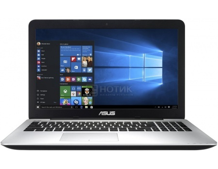 Ноутбук Asus X555UB (15.6 LED/ Core i7 6200U 2500MHz/ 6144Mb/ HDD 1000Gb/ NVIDIA GeForce GT 940M 2048Mb) MS Windows 10 Home (64-bit) [90NB0AQ2-M01400]