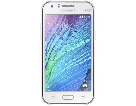 Смартфон Samsung Galaxy J1 mini 2016 SM-J105H DS White (Android 5.1/R3533S 1200MHz/4.0