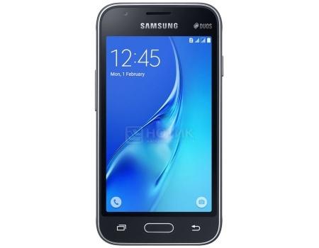 "Смартфон Samsung Galaxy J1 SM-J120F White (Android 5.1/Exynos 3475 1300MHz/4.5"" 480x800/1024Mb/8Gb/4G LTE ) [SM-J120FZKDSER]"