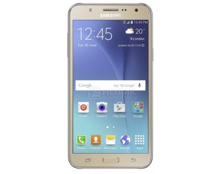 "Смартфон Samsung Galaxy J7 2016 SM-J710FN Gold (Android 6.0 (Marshmallow)/Exynos 7580 1600MHz/5.5"" 1280x720/2048Mb/16Gb/4G LTE  ) [SM-J710FZDUSER]"