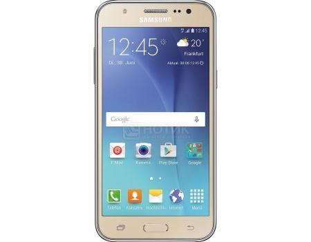 "Фотография товара смартфон Samsung Galaxy J5 2016 SM-J510FN Gold (Android 6.0 (Marshmallow)/MSM8916 1200MHz/5.2"" 1280x720/2048Mb/16Gb/4G LTE  ) [SM-J510FZDUSER] (44965)"