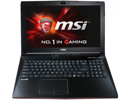 Ноутбук MSI GP62 2QE-417XRU Leopard Pro (15.6 LED/ Core i5 4210H 2900MHz/ 8192Mb/ HDD 750Gb/ NVIDIA GeForce® GTX 950M 2048Mb) Free DOS [9S7-16J312-417]