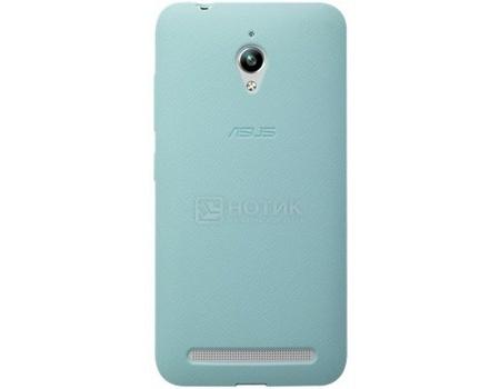 Чехол-бампер Asus для Asus ZenFone GO ZC500TG, Полиуретан,Голубой 90XB00RA-BSL3S0