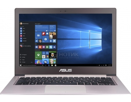 Ультрабук ASUS Zenbook UX303UA (13.3 LED/ Core i5 6200U 2300MHz/ 8192Mb/ SSD 256Gb/ Intel HD Graphics 520 64Mb) MS Windows 10 Home (64-bit) [90NB08V3-M03340]