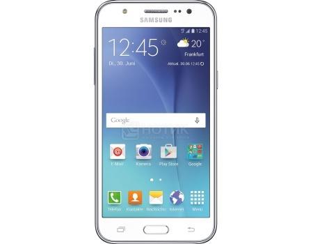 "Смартфон Samsung Galaxy J5 2016 SM-J510FN White (Android 6.0 (Marshmallow)/MSM8916 1200MHz/5.2"" 1280x720/2048Mb/16Gb/4G LTE ) [SM-J510FZWUSER]"
