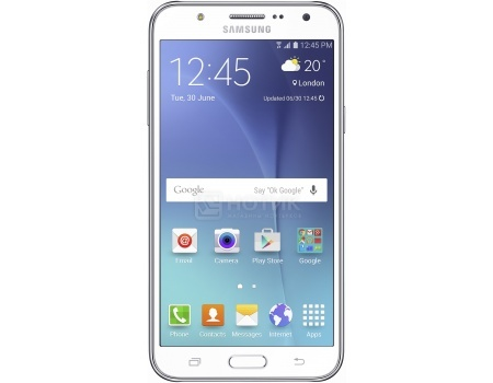 Смартфон Samsung Galaxy J7 2016 SM-J710FN White (Android 6.0 (Marshmallow)/Exynos 7580 1600MHz/5.5