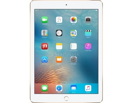 Планшет Apple iPad Pro 9.7 128Gb Wi-Fi Gold (iOS 9/A9X 2260MHz/9.7