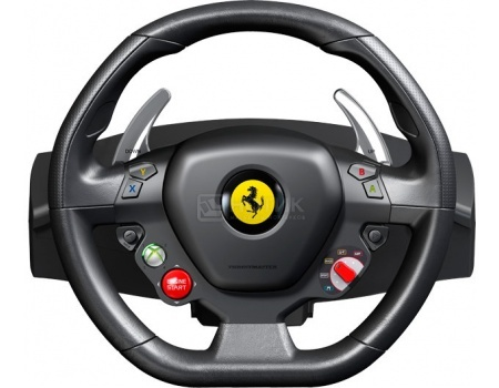 Руль Thrustmaster Ferrari 458 Italia Racing Wheel, PC, Xbox 360, Черный  2960734