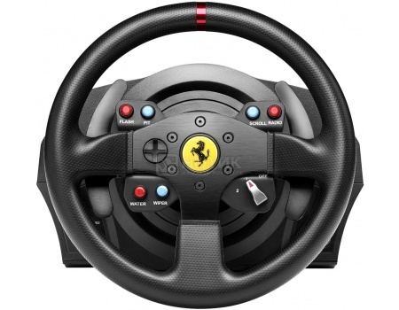 Руль Thrustmaster T300 Ferrari GTE EU Version, PS4/PS3, Черный 4160609