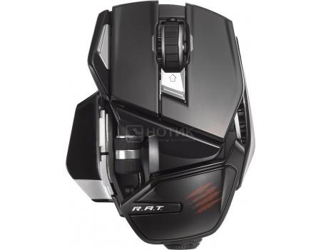 Мышь Mad Catz Office R.A.T Wireless Mouse, 1800dpi, Черный MCB4372400C2/04/1