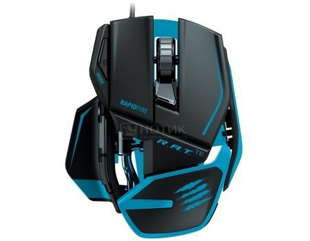 Мышь проводная Mad Catz R.A.T.TE Gaming Mouse, 8200dpi, Черный матовый MCB437040002/04/1