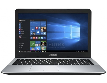 Ноутбук ASUS X555UJ-XO129T (15.6 LED/ Core i7 6500U 2500MHz/ 4096Mb/ HDD 1000Gb/ NVIDIA GeForce GT 920M 2048Mb) MS Windows 10 Home (64-bit) [90NB0AG2-M01460]