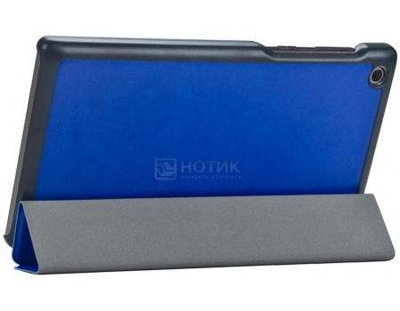 Чехол-подставка IT Baggage для планшета Lenovo IdeaTab 2 A7-30, Искусственная кожа, Синий ITLNA7302-4 аксессуар чехол lenovo ideatab s6000 g case executive white