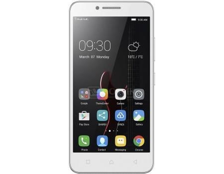 Смартфон Lenovo Vibe C (A2020) White (Android 5.1/MSM8909 1100MHz/5.0 (854x480)/1024Mb/8Gb/4G LTE 3G (EDGE, HSDPA, HSPA+)) [PA300021RU]Lenovo<br>5.0 Qualcomm 1100 МГц 1024 Мб Flash drive 8 Гб Android 5.1 бат. - до 8.5 ч Белый<br>