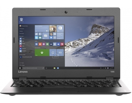 Ноутбук Lenovo IdeaPad 100s-14 (14.0 LED/ Celeron Dual Core N3050 1600MHz/ 2048Mb/ SSD 64Gb/ Intel HD Graphics 64Mb) MS Windows 10 Home (32-bit) [80R9005BRK]