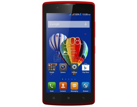 Смартфон Lenovo A2010 Red (Android 5.1/MT6735M 1000MHz/4.5