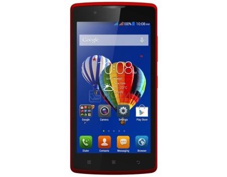 Смартфон Lenovo A2010 Red (Android 5.1/MT6735M 1000MHz/4.5 (854x480)/1024Mb/8Gb/4G LTE 3G (EDGE, HSDPA, HSPA+)) [PA1J0142RU]