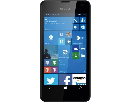 Смартфон Microsoft Lumia 550 Black (Windows Mobile 10/MSM8909 1100MHz/4.7