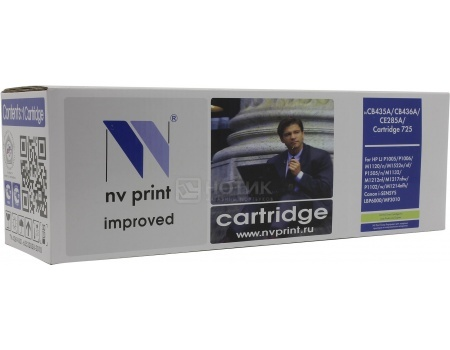 Картридж NV Print CB435A для HP LJ P1005, P1006, Черный NV-CB435A