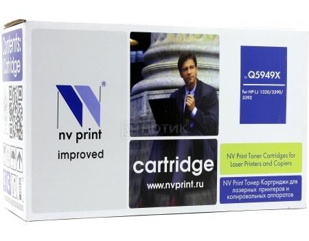 Картридж NV Print Q5949X для HP LJ 1320, 3390, 3392 , Черный NV-Q5949X