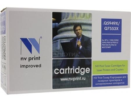 Картридж NV Print Q5949A/Q7553A для HP LJ 1160, 1320, 3390, 3392, P2014, P2015, M2727 mfp , Черный NV-Q5949A/Q7553A