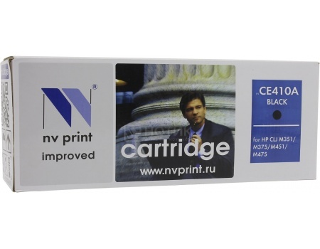 Картридж NV Print CE410A Black для HP CLJ Color M351, M451, MFP M375/MFP M475, Черный NV-CE410ABk от Нотик