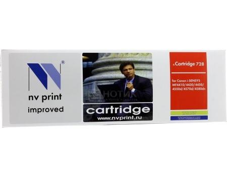Картридж NV Print Cartridge 728 для Canon MF4580dn, 4570dn, 4550dn, 4450, 4430, 4410/HP LJ Р1566/Р1606W, Черный NV-728